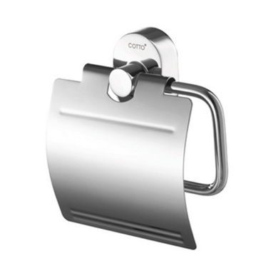 brass toilet paper holder single roll with cover brushed steel tissue holder