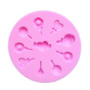 Little Lollipops Shapes Cake Decoration Fondant Silicone Mould Mould
