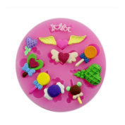Angel Stars Silicone 3d Mould Cookware Dining Bar Non-stick Cake Decorating Fondant Soap Mould