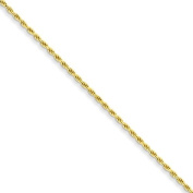 Flash Gold-plated Sterling Silver 1.75mm Diamond-cut Rope Chain