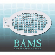 Bad Ass Gator Mini Stencil BAM1029