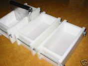 0.5-0.9kg Soap Moulds & BAR Slicer SET