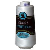 Maxi-Lock Stretch Thread 2,000 yds - #32109 White