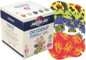 Ortopad Elite Boys Eye Patches - Patterns with Glitter Accents, Junior Size