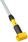 Rubbermaid Commercial FGH245000000 Gripper Clamp-Style Wet Mop, Fibreglass Handle, 140cm