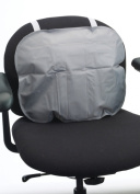 Corflex Office Chair Pillow for Back Pain & Travel Back Support for Car-Grey