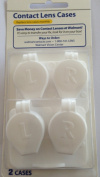 Contact Lens Cases Pack of 2 - Holds 4 Lenses