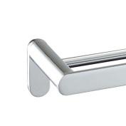MODONA 60cm Double Towel Bar - Polished Chrome - Oval Series - 5 Year Warrantee