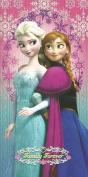 Disney Frozen Elsa & Anna 100% Cotton Beach Towel