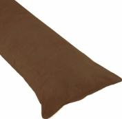 Body Pillow Pillowcase 50cm x 140cm Microsuede with a Nylon Zipper