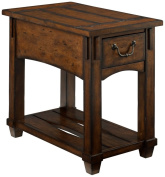 Hammary Tacoma Rustic Chairside Table