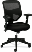 basyx by HON HVL531 Mesh Back Work Chair for Office or Computer Desk, Black