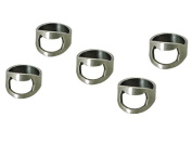 10pcs Set Silver Colour Stainless Steel Beer Ring Bottle Opener with 4 Mixing Sizes