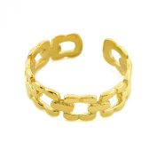 10k Gold Chain Link Toe Ring