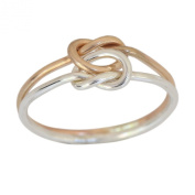 14k Gold Filled Love Knot Toe Ring