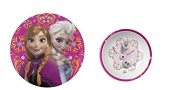 Disney Frozen 20cm Elsa and Anna Plate and 14cm Olaf Bowl
