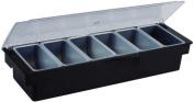 Winco CCH-6 6-Compartment Condiment Holder