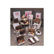 Southern Champion White Bakery Boxes, 10cm x 14cm x 7.6cm , Case of 250 (0900SOC) Category