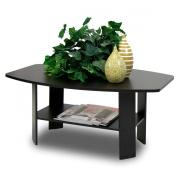 Furinno 10025 (11179) Simple Design Coffee Table, Espresso