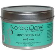 Nordic Care Harmony Bath Salts, Mint Green Tea, 440ml