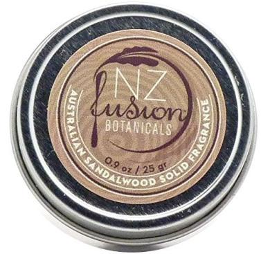 NZ Fusion Botanicals Australian Sandalwood Solid Fragrance 25ml/25gr