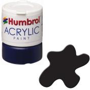 Humbrol Acrylic Paint, Black