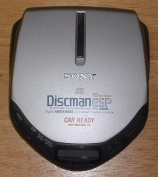 SONY D-E307CK Discman CD Compact Player with Electronic Shock Protection, AVLS and Digital Mega Bass