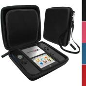 iGadgitz Black EVA Hard Case Cover for Nintendo 2DS