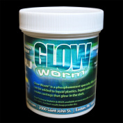 Glow Worm Blue Glow-In-The-Dark Powder - 180ml