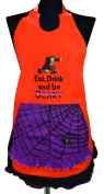 Manual Woodworkers and Weavers Apron, Monsters on Parade Halloween