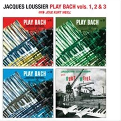 Jacques Loussier Play Bach Vols. 1, 2, 3 Plus Plays Kurt Weill