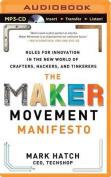 The Maker Movement Manifesto [Audio]