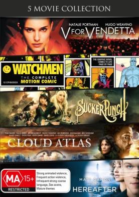 V For Vendetta / Watchmen /Sucker Punch / Cloud Atlas / Hereafter