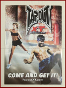 TapouT XT Fitness Workout Program + 15 DVDs + 4 RES BANDS + Guides Towel + Decal