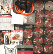 TapouT XT Extreme MMA Fitness Workout Program [EXPRESS POST] + 15 DVDs + 4 RES BANDS + Guides + Towel + MORE