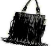 Fashion Women Punk Tassel Fringed Handbag Tote Shoulder Purse Bag