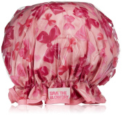 Save the Blow Dry Shower Cap, Pink Bow Design