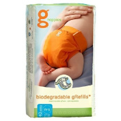 gNappies - gRefils Biodegradable Small 3-7kg 40 per pack