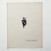 """Aubrey Beardsley - Antique Print - Design. for Title-Page of """"Plays"""" by John Davidson."""