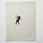Aubrey Beardsley - Antique Print - Cul-De-Lampe (Plate 121).