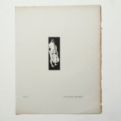 Aubrey Beardsley - Antique Print - Title-Page Ornament.