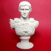 Carrara Marble Augustus Caesar Marble Bust