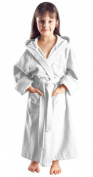 Children Hooded Terry Towel robes gowns brown bath robe, kids bathrobes