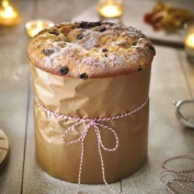 Silverwood Loose Based Panettone Tin 18cm Dia. 18cm H.