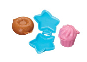 Sweetly Does It Assorted Shape Cake Pop Moulds - 3 Piece - Star, Donut, Cupcake