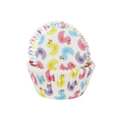 50 Cupcake Muffin Cases - Bath Ducks - House of Marie
