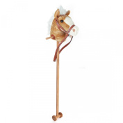 Hobby Horse With Sound - 100cm - Beige