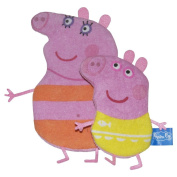 Peppa Pig and George Wash Mitts