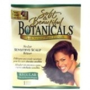 Soft And Beautiful Botanicals No Lye Sensitive Scalp Relaxer with Natural Plant Extracts Regular