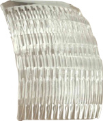 Shropshire Supplies 7cm Side Combs Hair Combs Pack of 4 - Clear
